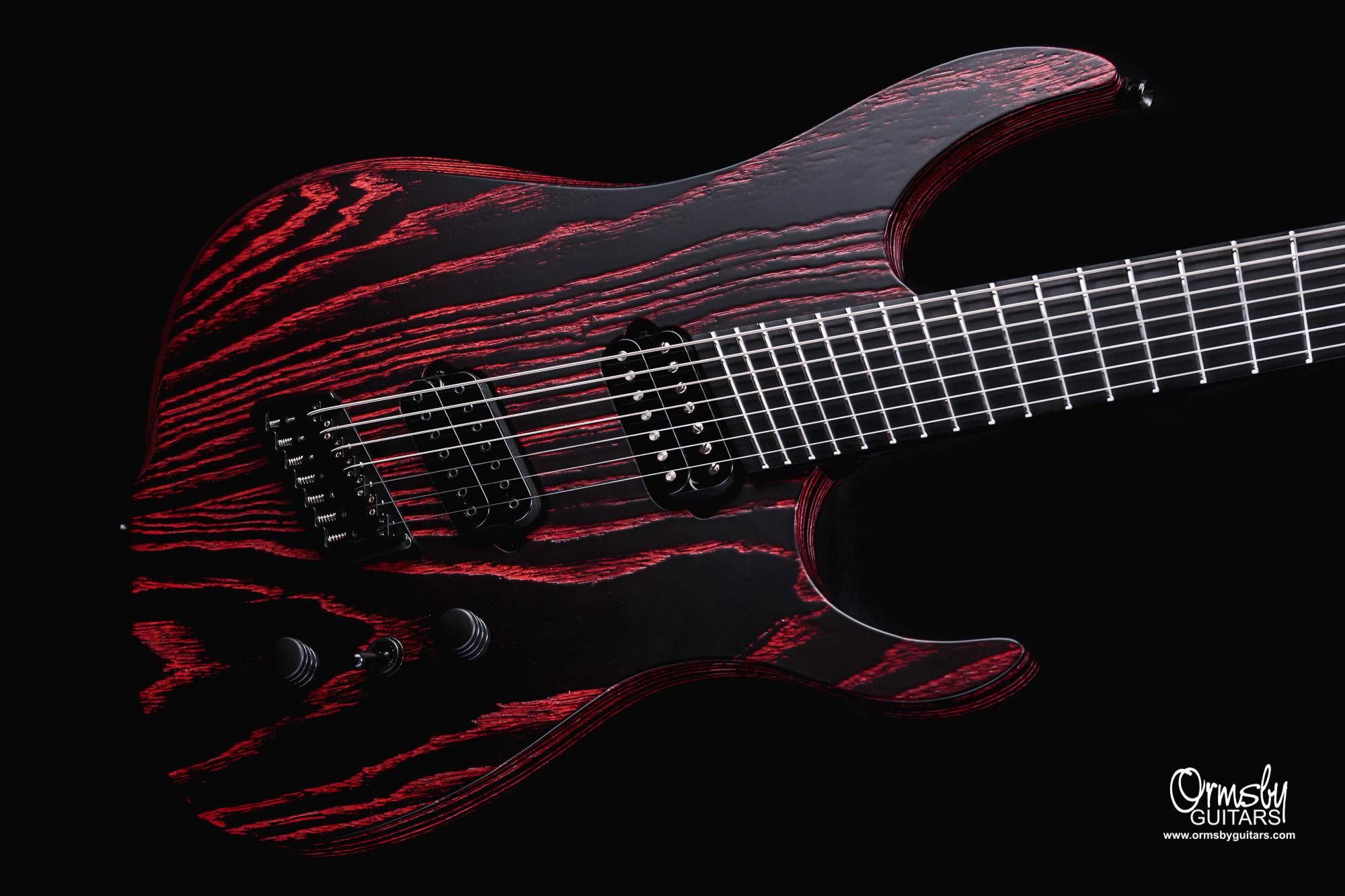 Ormsby Guitars Custom Finish