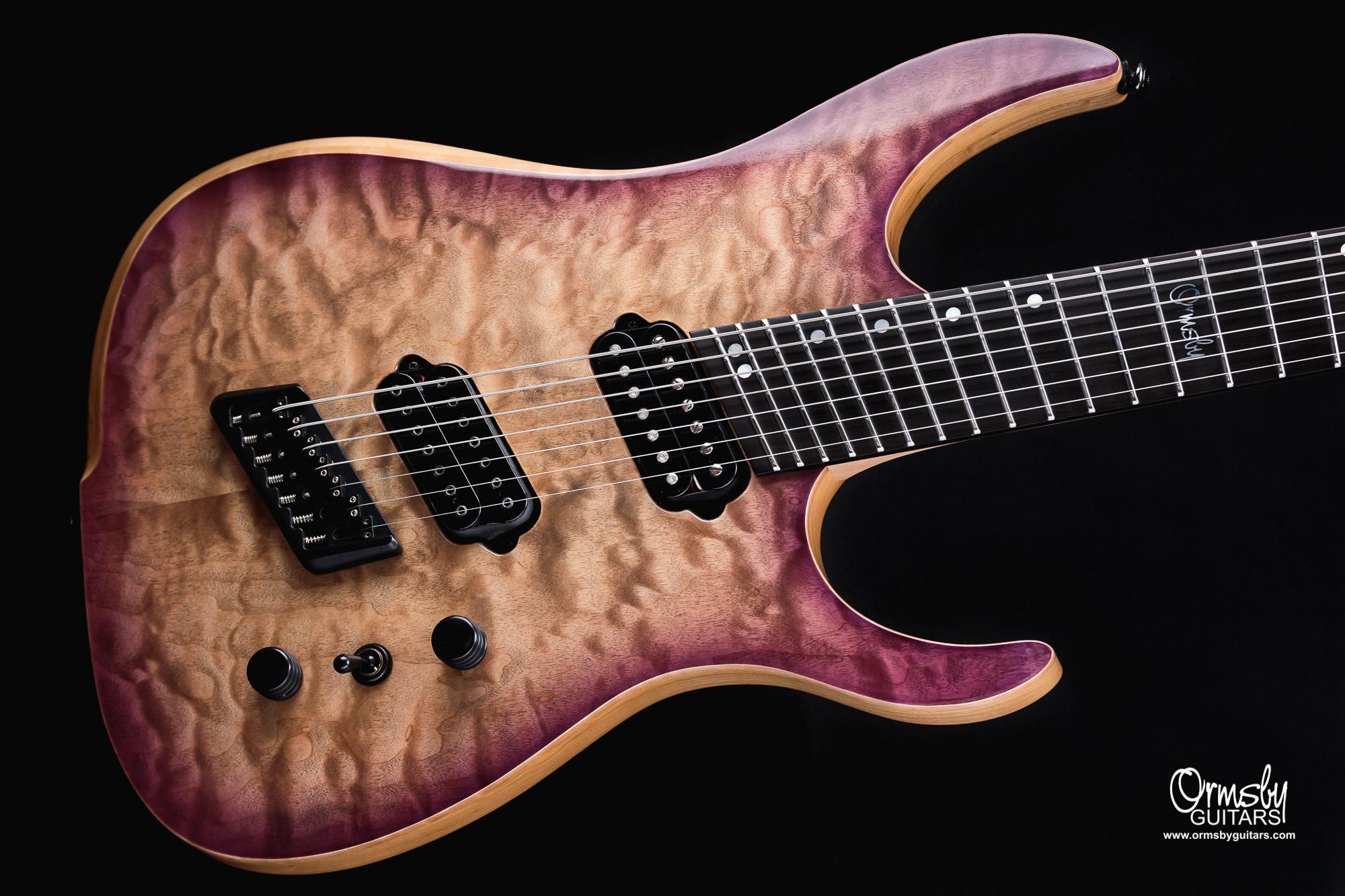 Ormsby Guitars Custom Factory