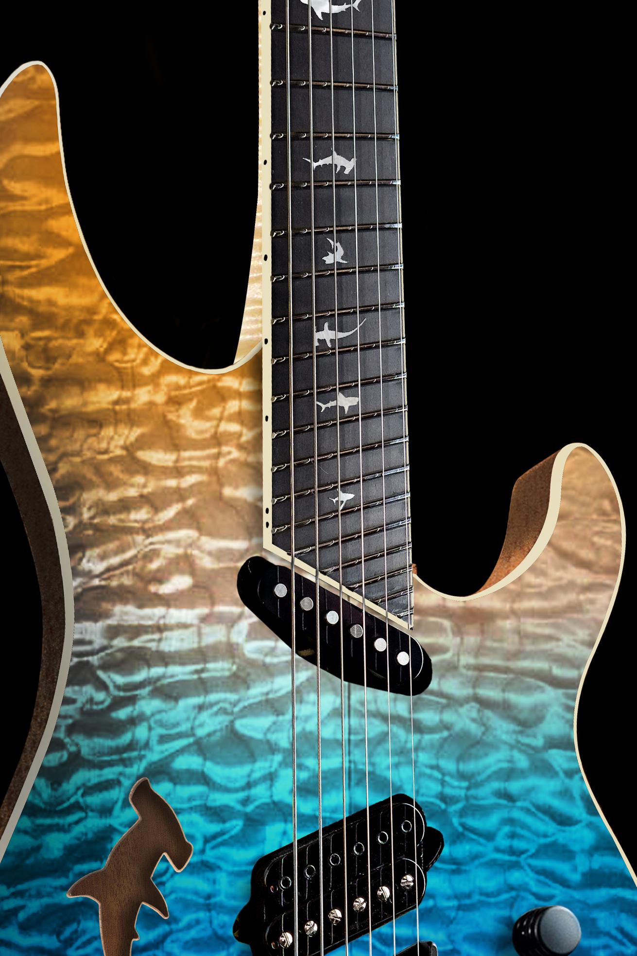 Ormsby Guitars Custom Finish Inlay