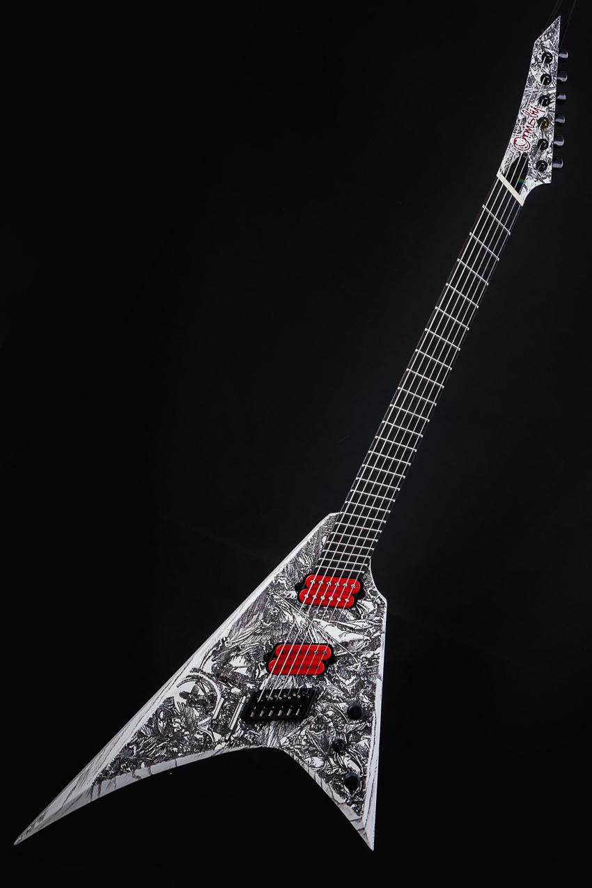 Ormsby Guitars Custom Finish Metal V