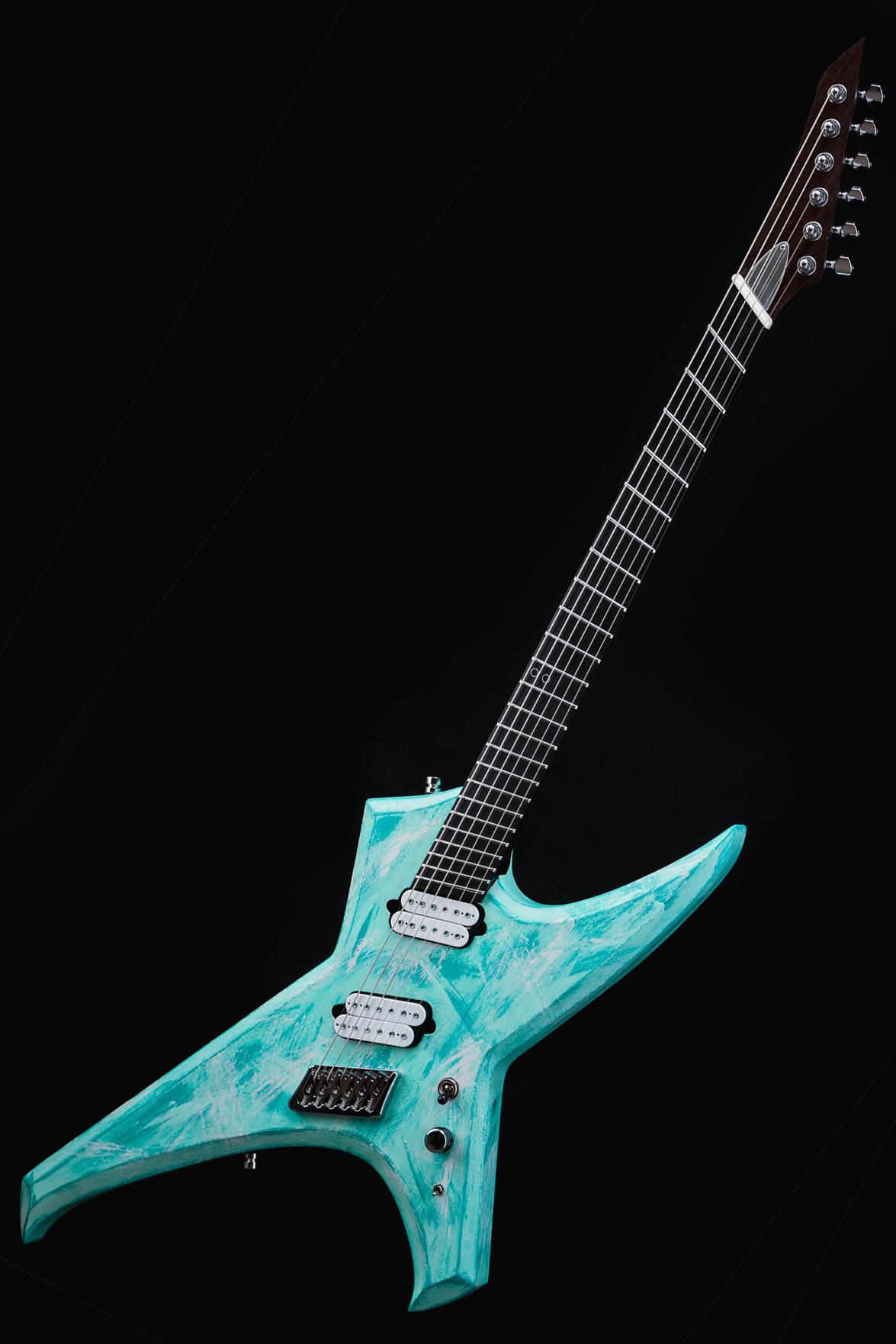 Ormsby Guitars Custom Finish Metal X