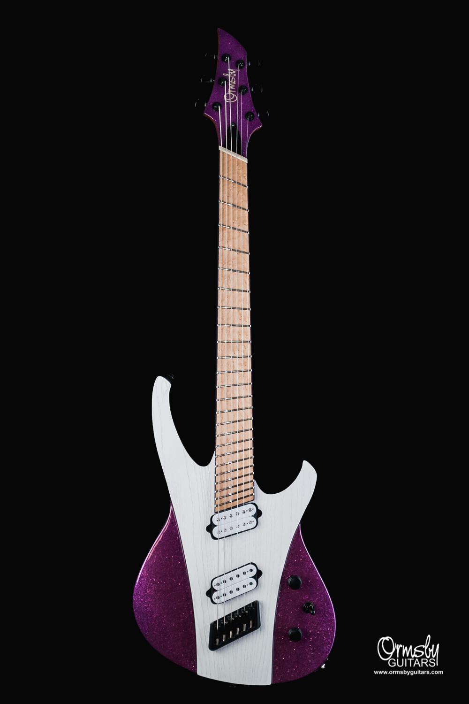 Ormsby Guitars Custom Futura Purple Pink Finish
