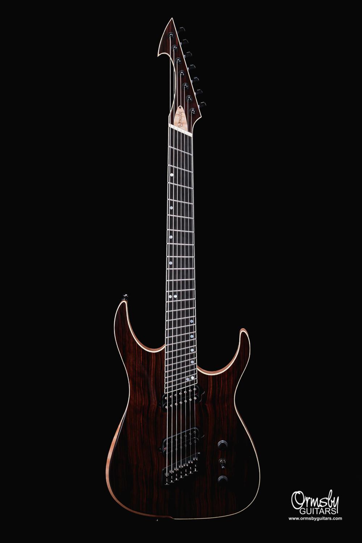 Ormsby Guitars Custom Finish Ebony Hype