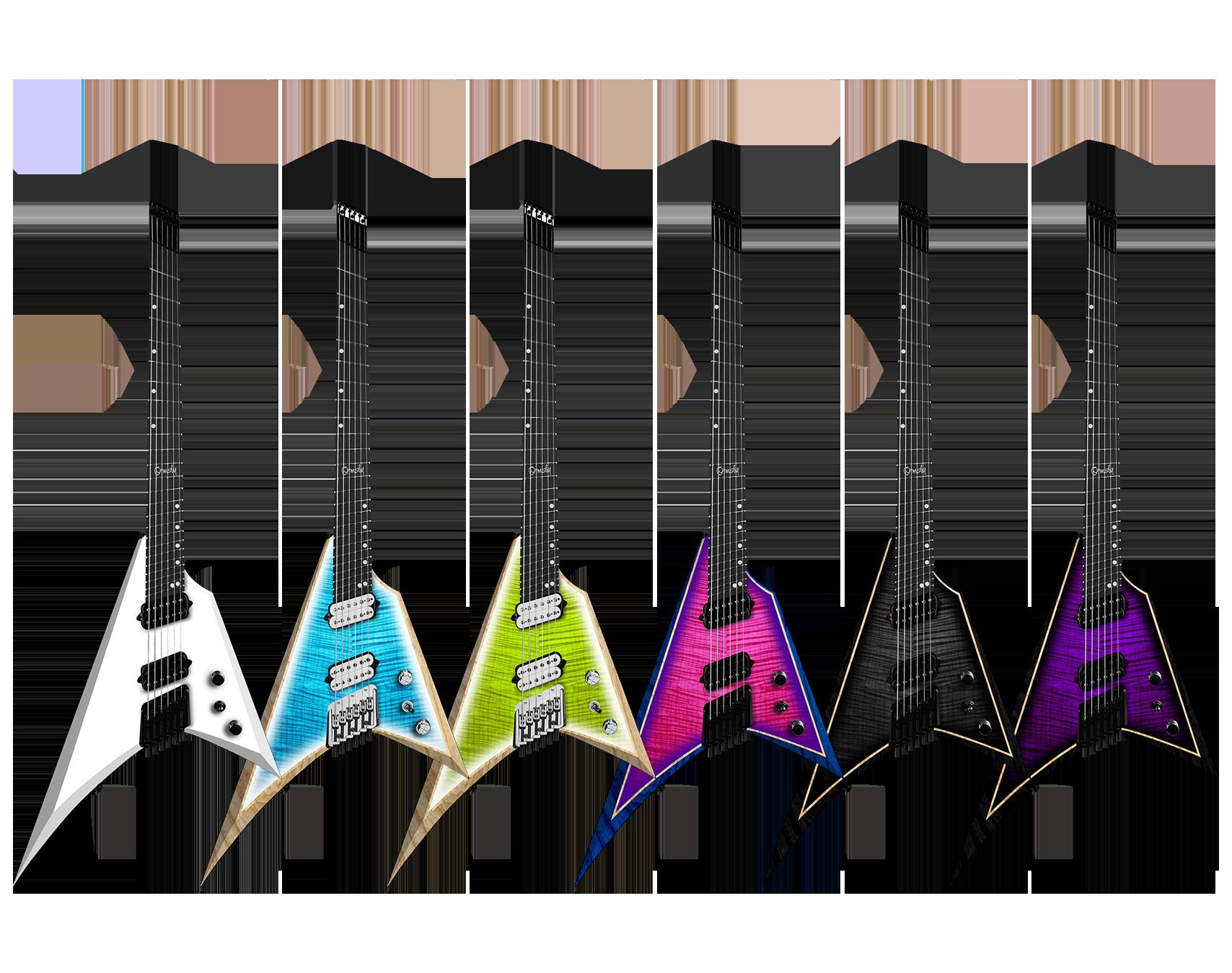 Ormsby Guitars run 16 metal v