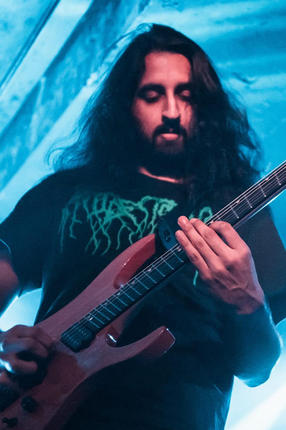 Ormsby Guitars Artists Wormhole Sanjay Kumar