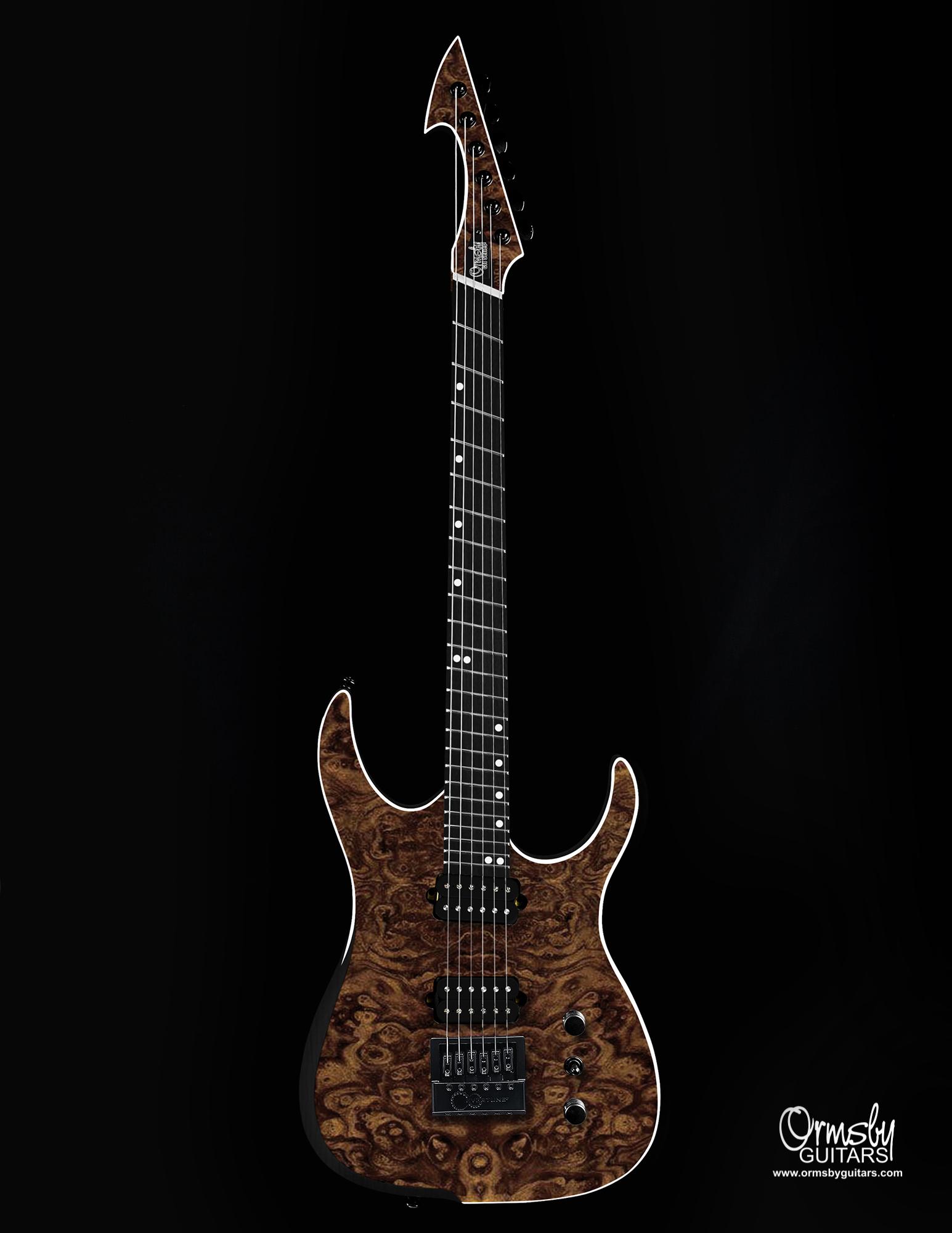 Ormsby Guitars GTI Hype Walnut