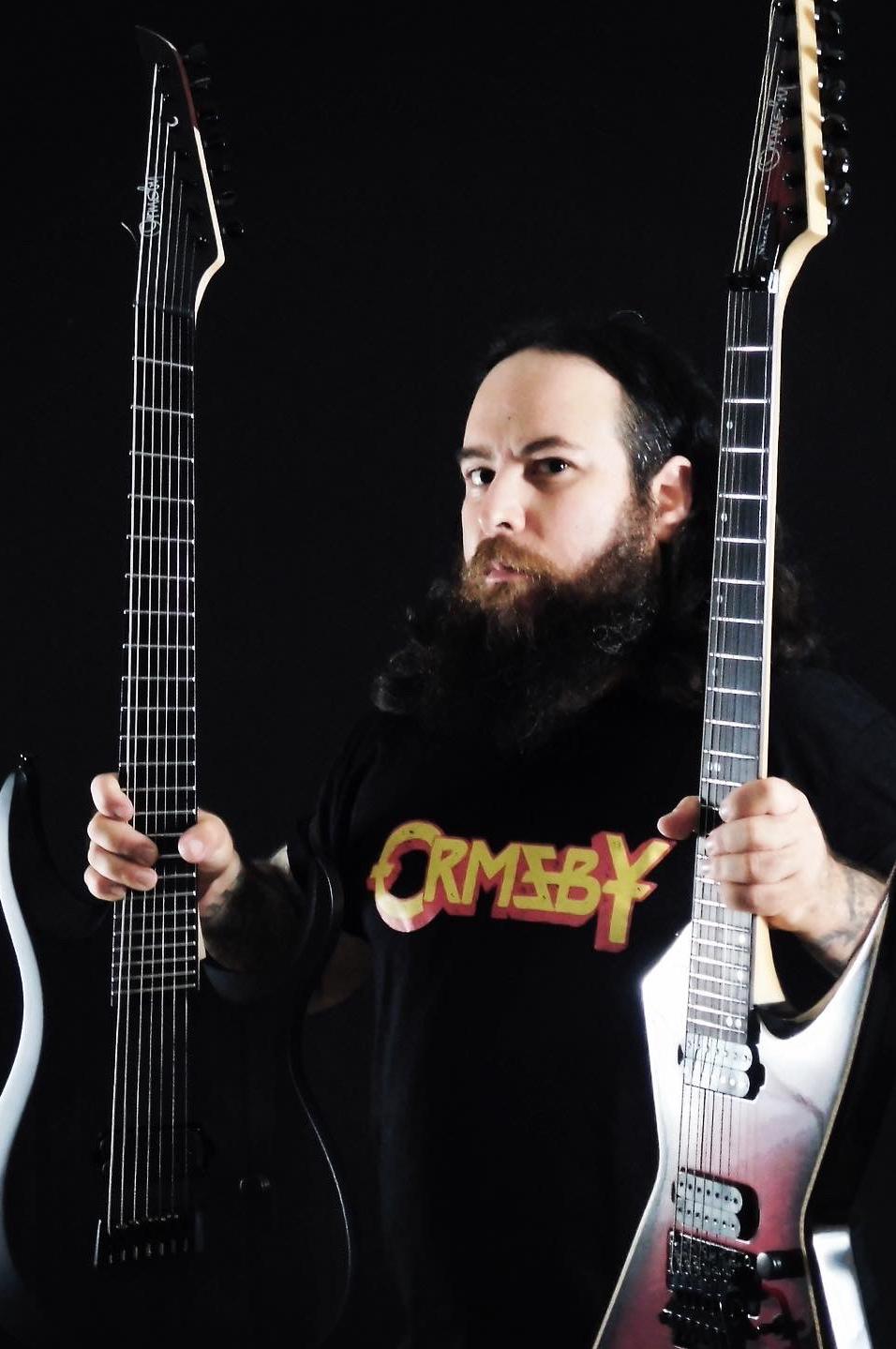 Ormsby Guitars Artists Deeds of Flesh Ivan