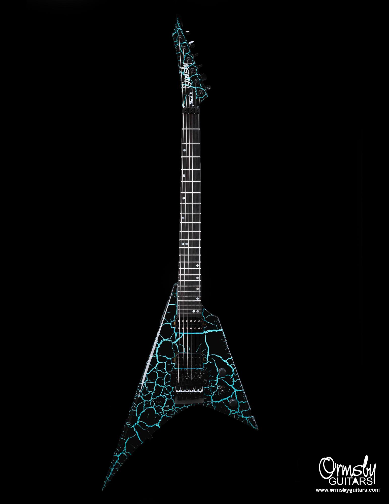 Ormsby Guitars GTR Metal V Crackle