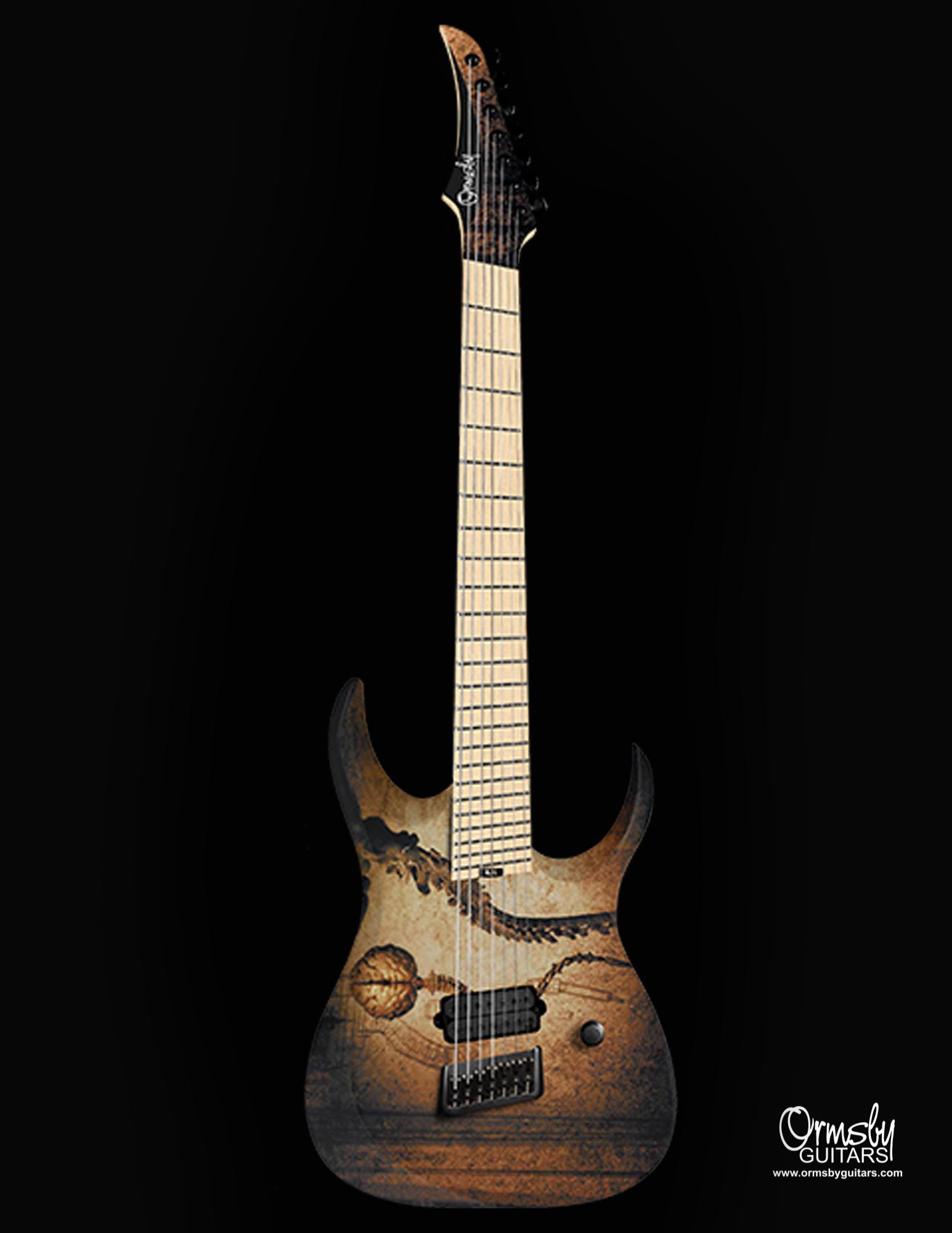 Ormsby Guitars Artists Dino Cazares