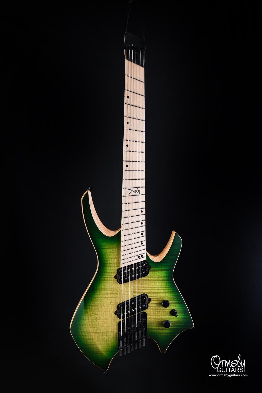 Ormsby Guitars Run 4 Goliath Flame Maple