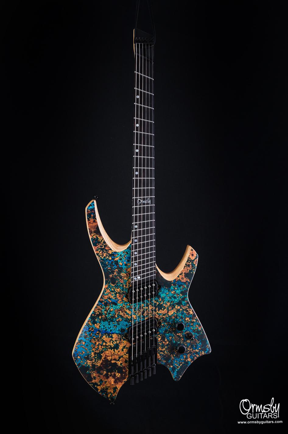Ormsby Guitars Run 4 Goliath Copper