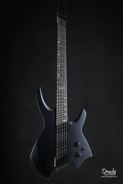 Ormsby Guitars Run 9 Headless Goliath Matte Black