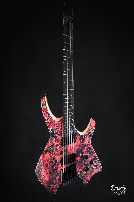 Ormsby Guitars Run 9 Headless Goliath Copper