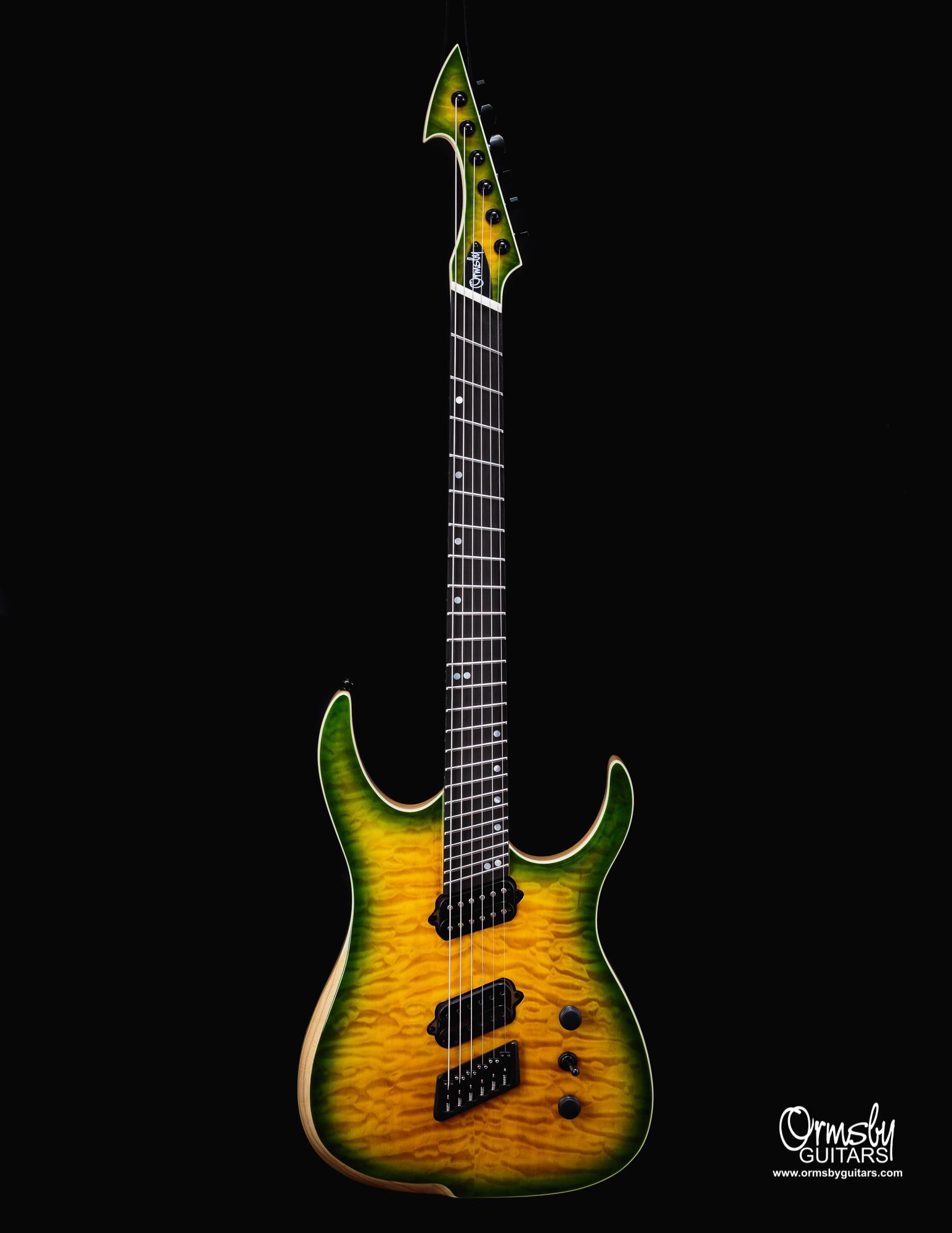Ormsby Guitars Run 11 Hype