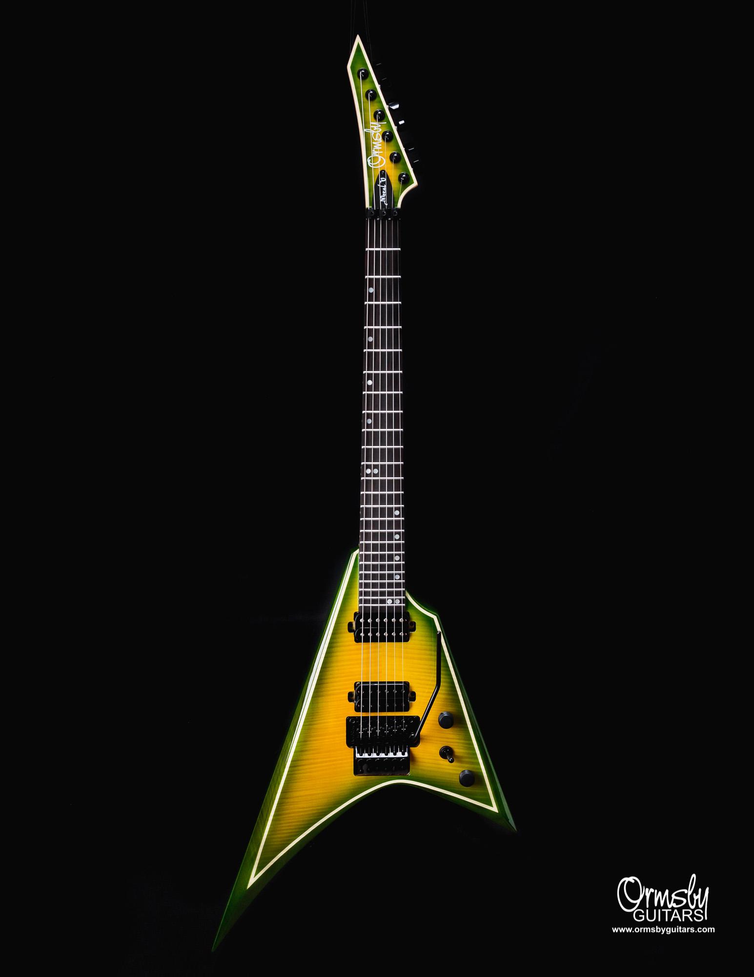 Ormsby Guitars Run 11 metal V