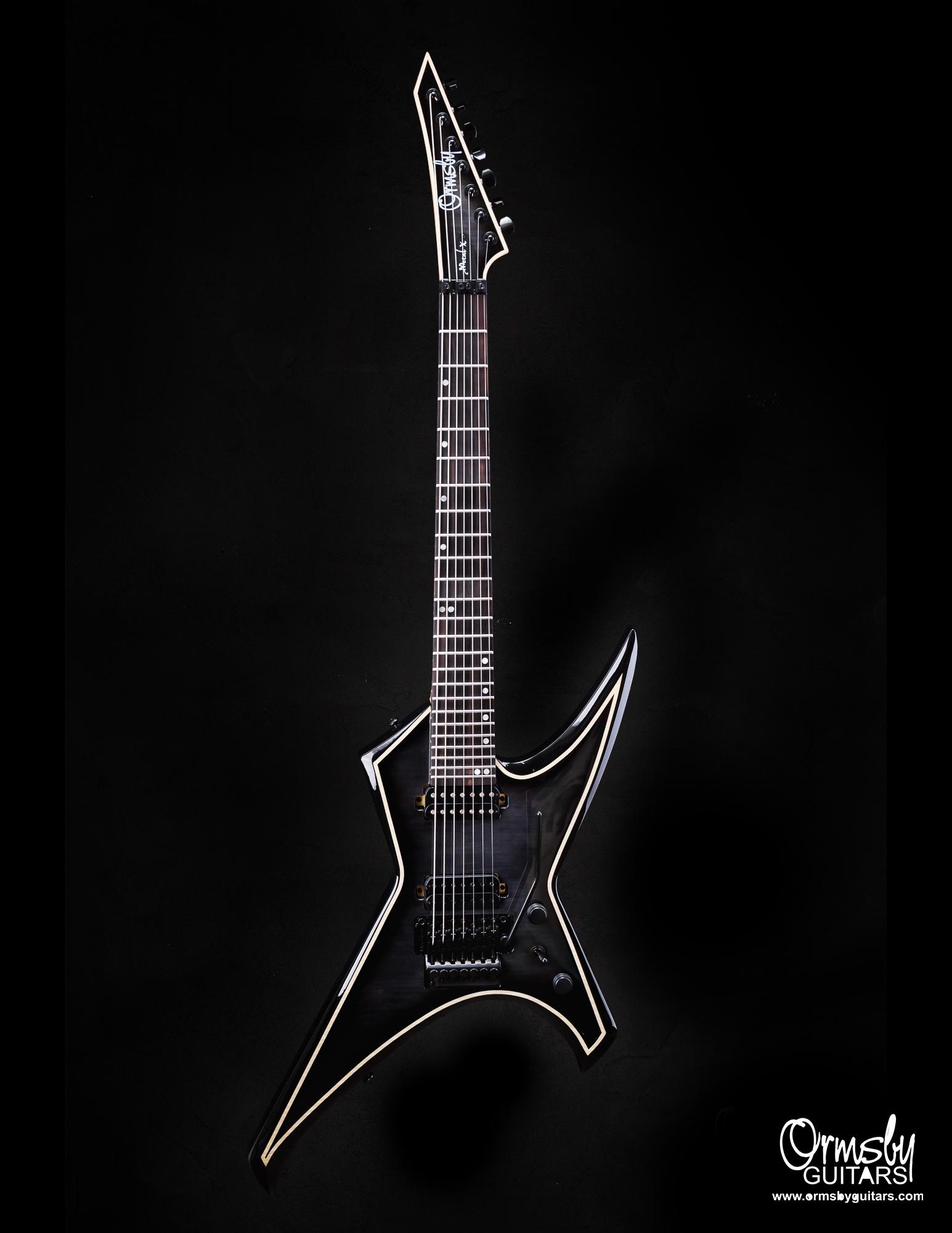 Ormsby Guitars Run 11 metal X