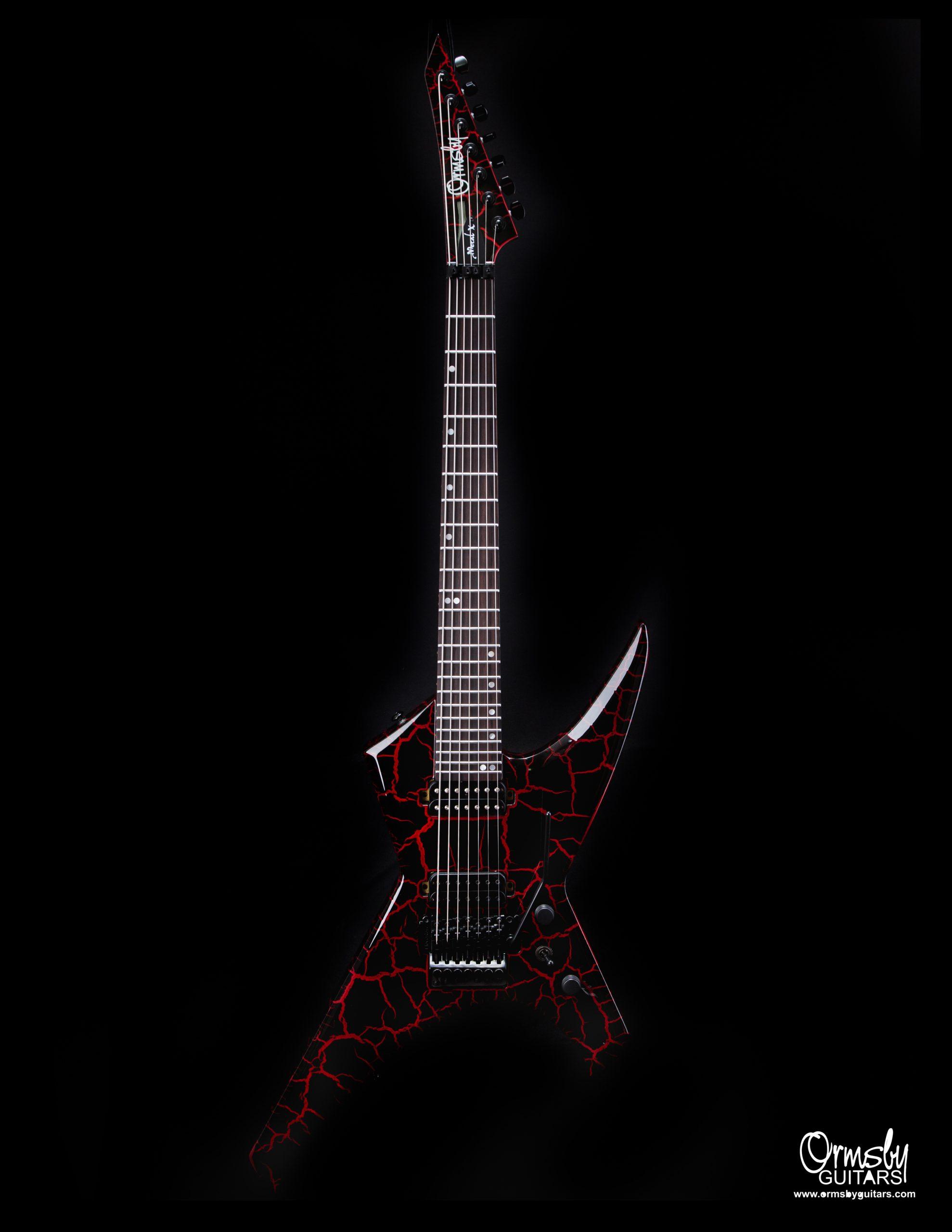 Ormsby Guitars Metal X Run 11 Crackle