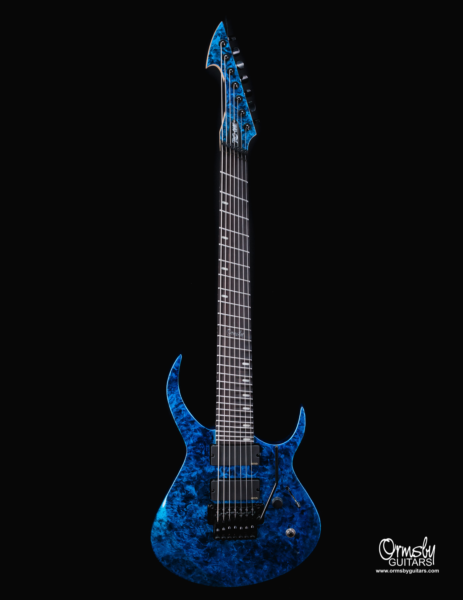Ormsby Guitars Artists Rusty Cooley Signature