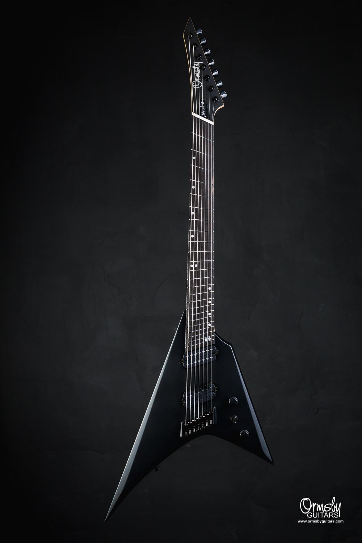 Ormsby Guitars Run 9 Metal V Matte Black